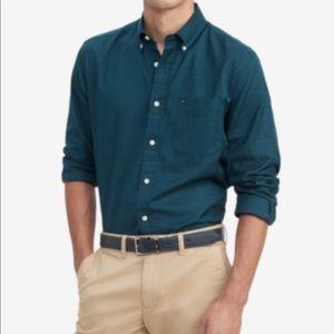 Tommy Hilfiger Mini Tartan Classic Fit Shirt